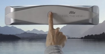 Ford Reveals Feel The View Smart Window for the Blind