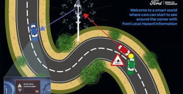 Ford Local Hazard Information Tech Reads the Road Ahead