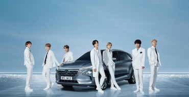 BTS Arrived to the Grammys in Style in the Hyundai NEXO