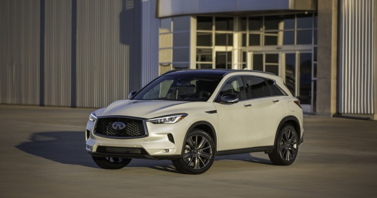 2020 Infiniti QX50 Earns the Consumer Guide Automotive Best Buy Award