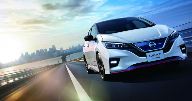 Nissan LEAF Sales Top 450,000