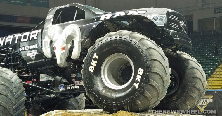 The Raminator Monster Truck Is a Beastly Modified RAM 2500 HD