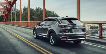 2020 Mazda CX-9 Earns a Top Safety Pick + Award From the IIHS