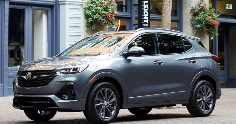 2020 Buick Encore GX Reaches U.S. Dealerships