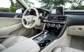 2020 Genesis G70 Interior Honored by Autotrader