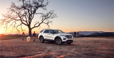 Ford Explorer XLT Sport Appearance Package Back for 2021
