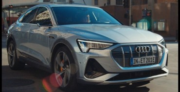 Audi Super Bowl Ad Shows Off New Electric e-tron Sportback