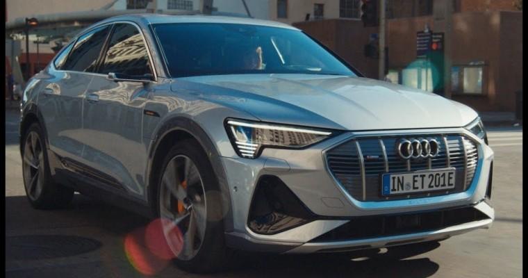 Audi Super Bowl Ad Shows Off New Electric e-tron Sportback