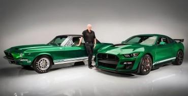 Green Hornet, Little Red Shelby Mustang Hit Scottsdale
