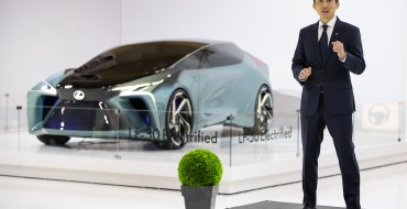 Check Out the Lexus LF-30 Electrified Concept at the Canadian International Auto Show