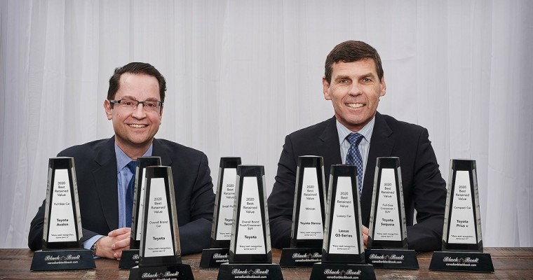 Toyota Canada Receives 9 Best Retained Value Awards