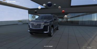 2021 Cadillac Escalade Visualizer Lets You Build a Dream SUV