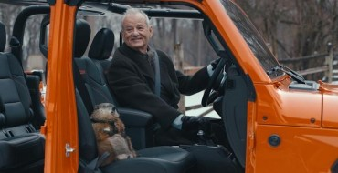 "Jeep and Bill Murray Shake Things Up with a ""Groundhog Day"" Super Bowl Ad"