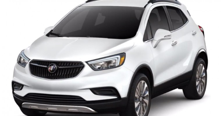 Buick Encore Sales Increase by 22 Percent
