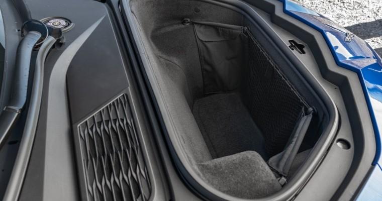 Dear Chevrolet, How Many Chicken Wings Fit in the Corvette Stingray's Frunk?