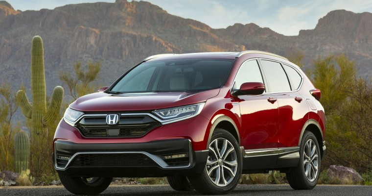 Honda CR-V Hybrid Named 'Best New Car for 2020'