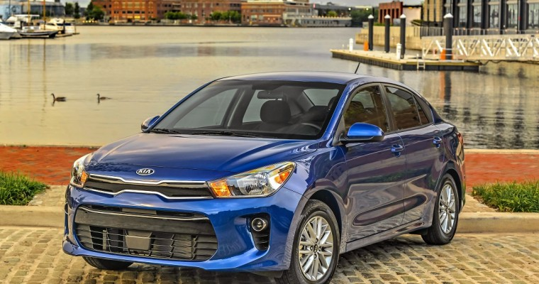 2020 Kia Rio Sedan Overview
