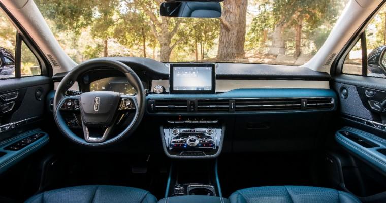 Autotrader Awards 2020 Lincoln Corsair for Superior Interior