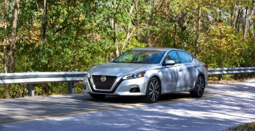 Nissan Altima Named to US News' List of 9 Best Midsize Cars for the Money in 2020
