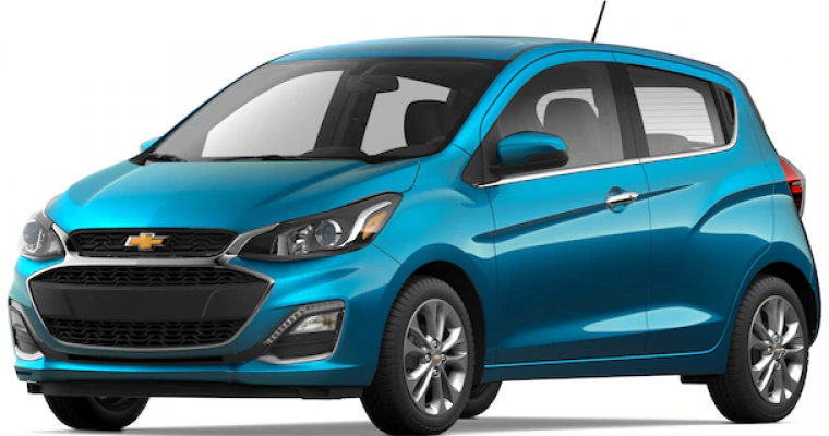 Chevy Spark Is One of the Cheapest Cars of 2020, Says KBB