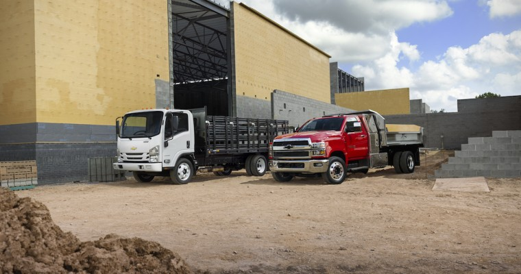 Chevrolet Express Vans and Low Cab Forward Trucks Get a New V8 Engine