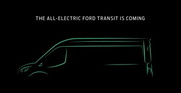 Ford Announces All-Electric Transit Van