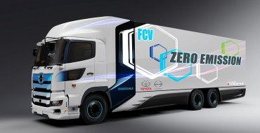 Toyota Partners with Hino to Make Fuel Cell Truck