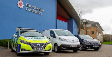 Gloucestershire Police Force Goes Green With Nissan EVs