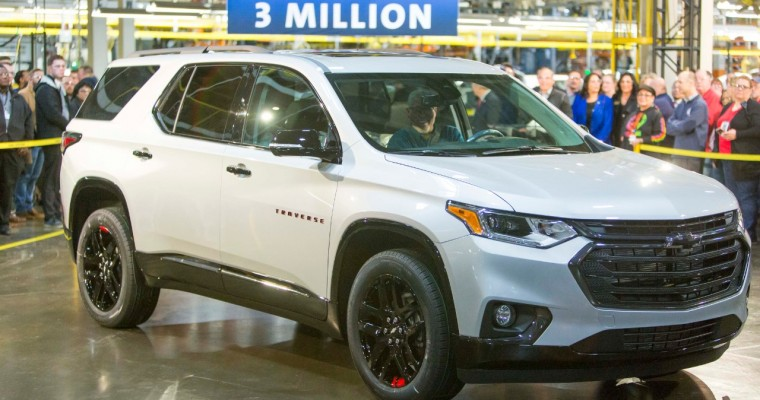 Lansing Delta Township Assembly Builds 3-Millionth Vehicle