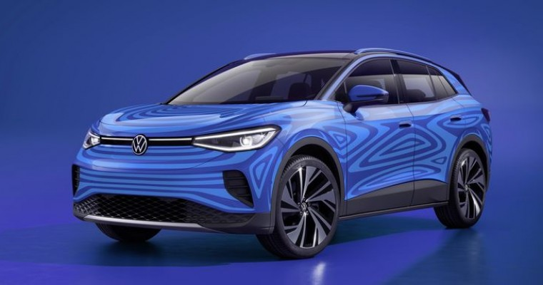Volkswagen's ID.4 Electric SUV Revealed