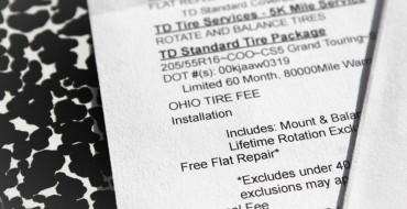 What Are Tire Fees?