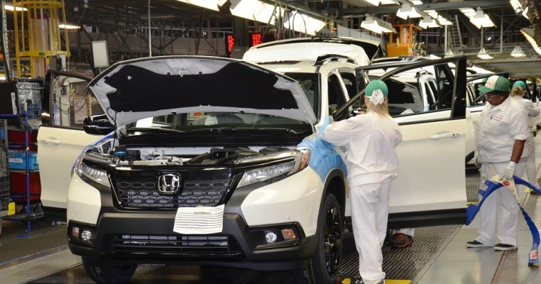 Honda Auto Production Suspended Again to May 8