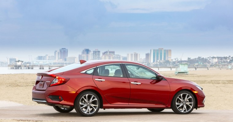 Honda Civic Tops Car Segment in Automotive Loyalty Awards