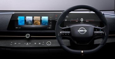 Nissan Ariya Concept Showcases Wave-like Design for Display Screens