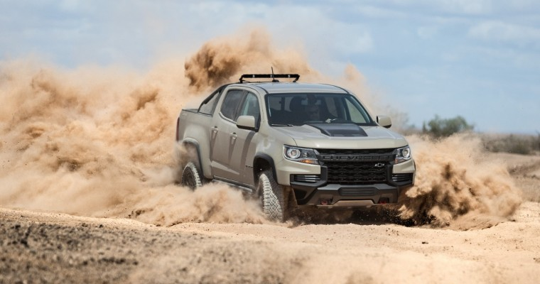GM Announces 3 New Packages for 2021 Chevy Colorado