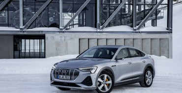 Details for the New Audi E-Tron Sportback SUV Coupe Revealed