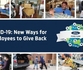Ford Fund Giving Back with COVID-19 Donation Match