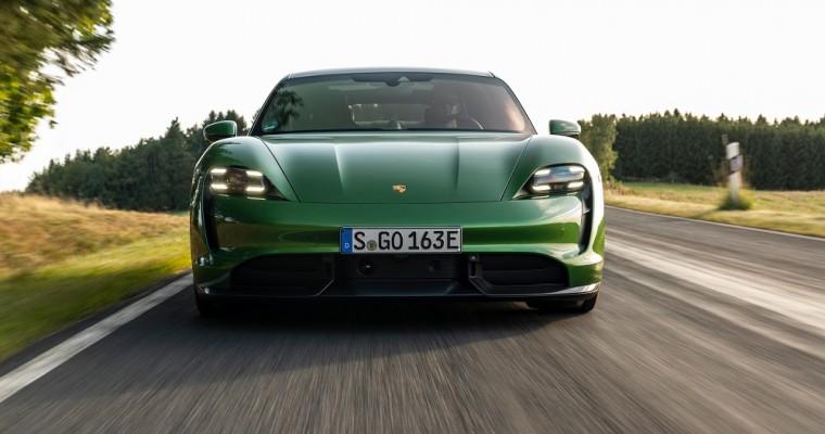 Porsche Taycan Wins Two 2020 World Car Awards