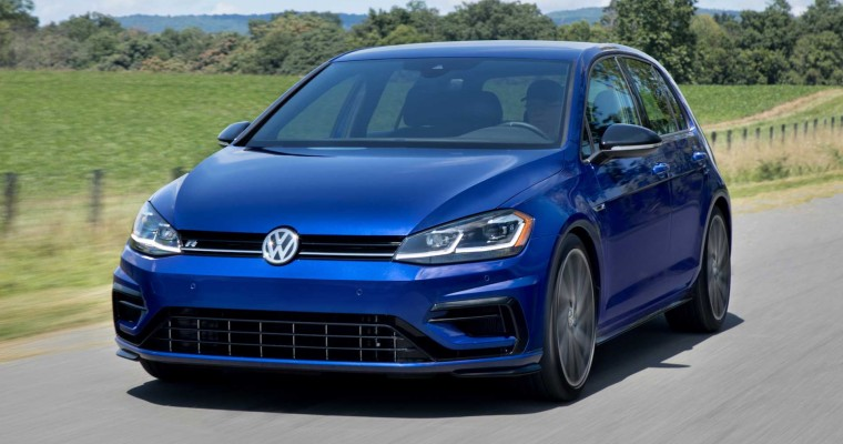 Undisguised Volkswagen R Vehicles Spotted