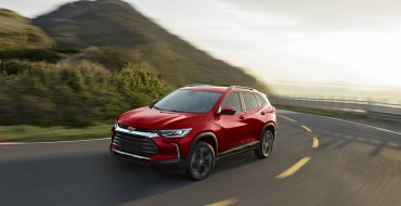 New 2021 Chevrolet Tracker Crossover Coming to Mexico
