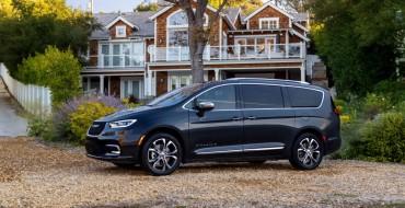 Chrysler Pacifica Earns Spot on 2021 Best Family Cars List