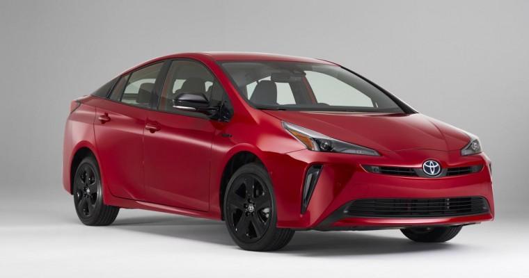 [Photos] Toyota Prius 2020 Edition Honors Hallmark Hybrid