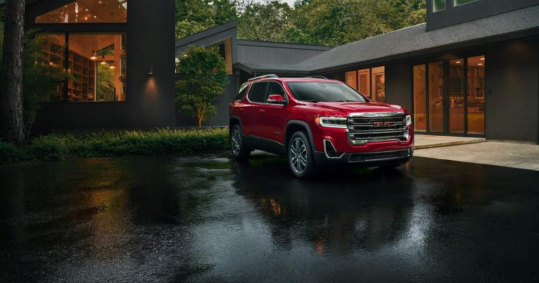 GMC Acadia Makes Edmunds' Best Updated Cars for 2020 List