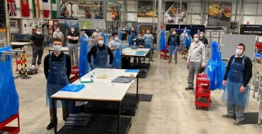 Nissan UK's Sunderland Plant Provides PPE to Healthcare Workers