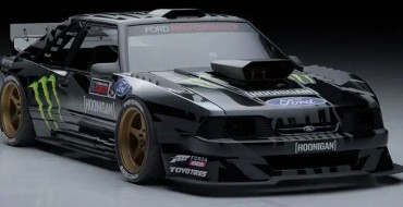 Ken Block Shows Off Retro-tastic Hoonifox Mustang