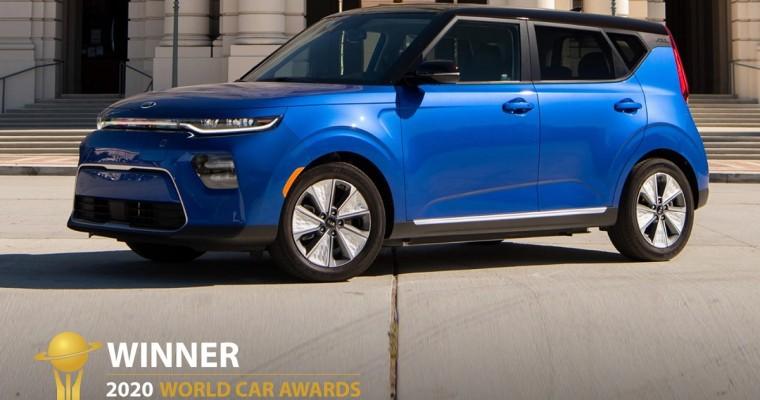 Kia Telluride and Soul EV Win 2020 World Car Awards