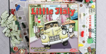 Little Italy Board Game Review: Sneaky Mobsters in Classic Cars