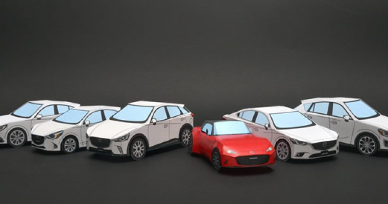 Chase Away the Quarantine Blues with a Papercraft Mazda