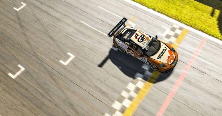 Larry ten Voorde Wins Porsche Supercup Virtual Edition
