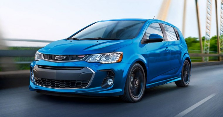 Chevy Sonic Is No. 1 in 2020 J.D. Power Initial Quality Study